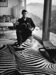 Rudi Gernreich at his Laurel Canyon home, 1968. Photo: Ernest Reshovsky © 1978 Marc Reshovsky - Image 11212_0022