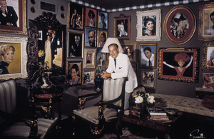 Wallace Seawell in his studiocirca 1970 © 1978 Wallace Seawell - Image 11213_0001