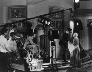 "Marion Davies during the making of ""Page Miss Glory""1935 - Image 1127_0513"