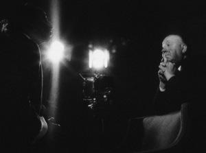 Yousuf Karsh with Alfred Hitchcock, 1961. Photo: Ernest Reshovsky © 1978 Marc Reshovsky - Image 11288_0002