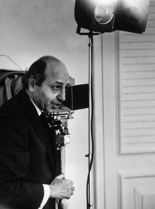 Photographer Yousuf Karsh1961Photo by Ernest Reshovsky© 1978 Marc Reshovsky - Image 11288_0003