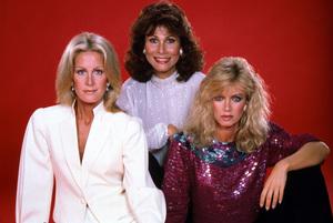 """Knots Landing""Joan Van Ark, Michele Lee, Donna Mills © 1983 Gene Trindl - Image 1130_0010"