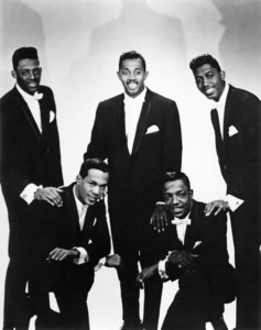 The Temptations (David Ruffin, Melvin Franklin, Paul Williams, Otis Williams, Eddie Kendricks)circa 1964 - Image 11308_0001