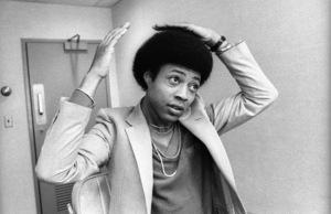 The Temptations in the Soul Train dressing room (Glenn Leonard)circa 1978© 1978 Bobby Holland - Image 11308_0014