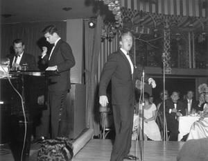 Mocambo NightclubVan Johnson Performing1955 © 1978 David Sutton - Image 1131_0003