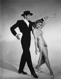 Patrice Wymore and dancer Luis Durbin1958© 1978 Wallace Seawell - Image 11320_0005