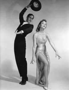 Patrice Wymore and dancer Luis Durbin1958© 1978 Wallace Seawell - Image 11320_0006
