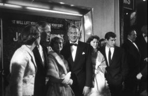"""Spirit of St. Louis"" PremiereJimmy Stewart, Gary Cooper, Anthony Perkins,Art Linkletter, 1957 © 1978 David Sutton / MPTV - Image 1140_0011"