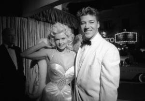 """Bundle of Joy"" PremiereJayne Mansfield, Mickey Hargitay1956 © 1978 David Sutton - Image 1141_0003"