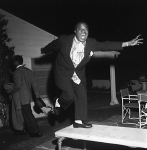 """Billy Daniels Party""Louis Armstrong1955 © 1978 David Sutton - Image 1142_0005"