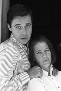 Peter Bogdanovich at home with his wife Polly Platt1968© 1978 Bruce McBroom - Image 11423_0004