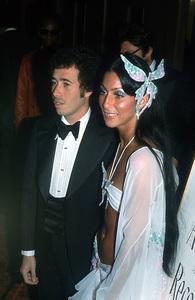"""Grammy Awards"" 1974Cher with David Geffin © 1978 Kim Maydole Lynch - Image 11459_0004"