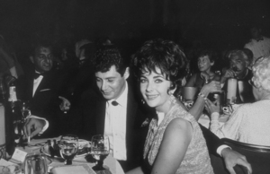 Eddie Fisher, Elizabeth Taylor and Danny Thomas at a party thrown by Eddie Fisher at the Coconut GroveC. 1960 © 1978 David SuttonMPTV - Image 1147_0001