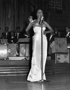 Lena Horne performing at the Cocoanut Grove1953 © 1978 David Sutton - Image 1147_0026