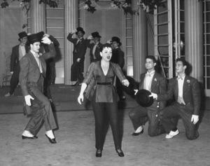 """Ford Star Jubilee""Judy Garland 1955 CBS Photo by Gabi Rona/** I.V. - Image 11475_0003"