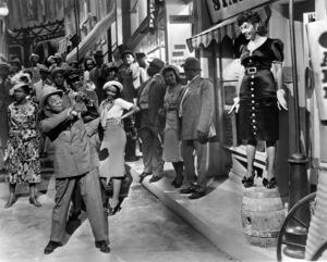 """Artists & Models""Louis Armstrong, Martha Raye1937 Paramount - Image 11482_0001"