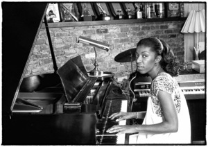 Natalie Cole at home in Los Angeles circa early 1980s© 1980 Michael Jones - Image 11486_0029
