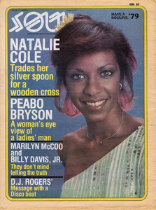 Natalie Cole on the January 8, 1979 cover of Soul Magazine1978© 1978 Bobby Holland - Image 11486_0039