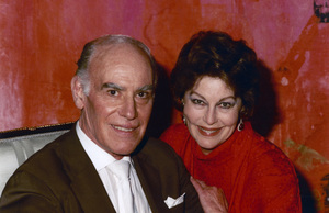 Sydney Guilaroff and Ava Gardner1983© 1983 Wallace Seawell - Image 11487_0002