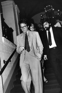 Warren Beatty during a gathering in L.A.
