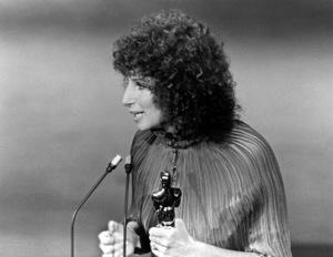 """Academy Awards - 49th Annual"" Barbra Streisand 1977 - Image 11512_0041"