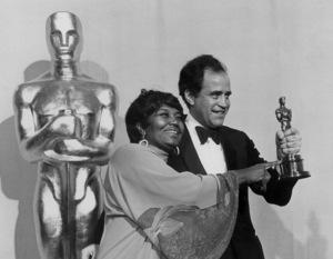 """""""Academy Awards - 49th Annual""""Pearl Bailey, Arthur Cohn1977 - Image 11512_0042"""