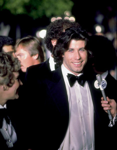 """Academy Awards: 50th Annual,"" John Travolta. 1978. © 1978 Gunther - Image 11513_0019"