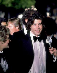 """Academy Awards: 50th Annual,"" John Travolta. 1978. © 1978 Gunther - Image 11513_0019"