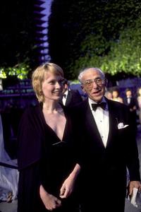 """Academy Awards: 50th Annual,"" Mia Farrow, George Cukor. 1978. © 1978 Gunther - Image 11513_0027"