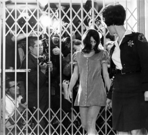 Susan Atkins in Los Angeles for arraignment in the Sharon Tate murder1969 - Image 11514_0011