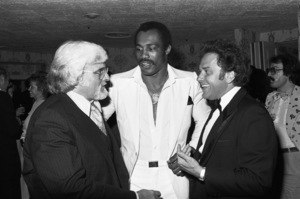 Motown President Barney Ales, boxer Ken Norton and Casablanca Records President Neil Bogart inLos Angeles  1978 © 1978 Bobby Holland - Image 11517_0001