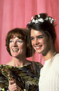 """""""Academy Awards: 51st Annual,"""" Maggie Smith (Best Supporting Actress), Brooke Shields. 1979. © 1979 Gunther - Image 11518_0012"""