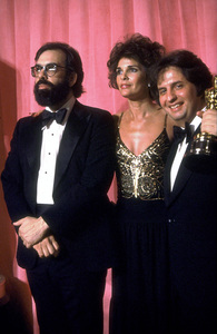 """Academy Awards: 51st Annual,"" Francis Ford Coppola, Ali MacGraw, and Michael Cimino (Best Director) 1979 © 1979 Gunther - Image 11518_0014"