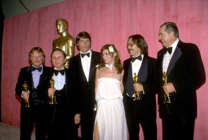"""Academy Awards: 51st Annual,"" R. Portman, W. McCaughey, C. Reeves, M. Kidder, A. Rochin, C. Knight. (Best Sound) 1979. © 1979 Gunther - Image 11518_0018"
