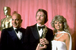 """Academy Awards: 51st Annual,"" Telly Savalas, Christopher Walken (Best Supporting Actor), Dyan Cannon. 1979. © 1979 Gunther - Image 11518_0020"