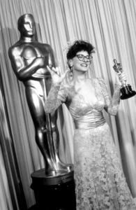 """Academy Awards: 59th Annual,"" Marlee Matlin. 1987. © 1987 Gunther - Image 11521_0007"