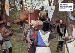 """Monty Python and the Holy Grail""1975 Michael White Productions** I.V. - Image 11523_0002"
