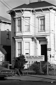 Black Panther Party National Headquarters1971 © 1978 Gunther - Image 11525_0007