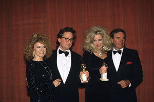 """The Golden Globe Awards""Ann-Margret, Michael Douglas, Sally Kirkland, Robert Wagner1988 © 1988 Gunther - Image 11528_0012"