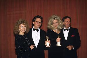 """""""The Golden Globe Awards""""Ann-Margret, Michael Douglas, Sally Kirkland, Robert Wagner1988 © 1988 Gunther - Image 11528_0012"""