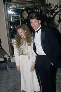 """""""The Golden Globe Awards""""Christopher Reeve1988 © 1988 Gunther - Image 11528_0025"""