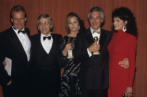 """The 45th Annual Golden Globe Awards""Corbin Bernsen, Susan Dey, Steven Bochco, Connie Sellecca1988© 1988 Gunther - Image 11528_0036"