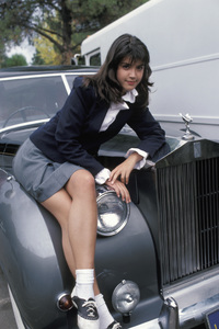 """Phoebe Cates on the set of """"Private School""""1982 © 1982 Gunther - Image 11529_0002"""