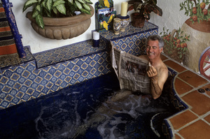 Jed Allan at home1991© 1991 Gunther - Image 11536_0003