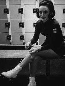 Peggy Fleming rehearsing for Olympics, Glendale, 1965. Photo: Ernest Reshovsky © 1978 Marc Reshovsky - Image 11548_0012