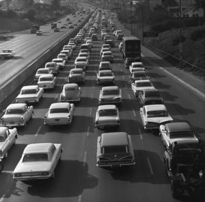 Los Angeles Freeways1961 © 1978 Sid Avery - Image 11549_0027