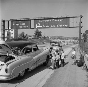 Los Angeles Freeways1954 © 1978 Sid Avery - Image 11549_0028