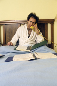 Andy Kaufman at home1984© 1984 Gunther - Image 11563_0010