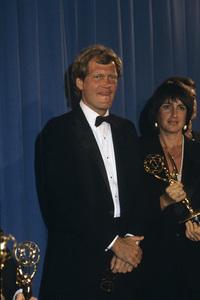 """Emmy Awards""David Letterman and Merrill Markoe1983 © 1983 Gunther - Image 11567_0001"