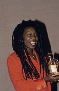 """Golden Globe Awards"" Whoopi Goldberg © 1991 Gunther - Image 11568_0006"